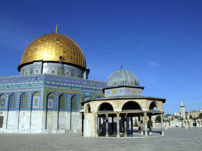 The Al-Aq'sa Mosque which few Palestinians can ever visit