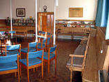 Circle Of Chairs And The Library (90 kbytes) - Click to enlarge