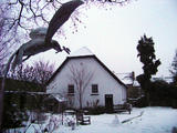 The Dove And Meeting House In Snow (99 kbytes) - Click to enlarge