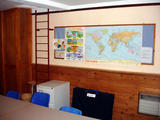 Children's Room Map and Painting (72 kbytes) - Click to enlarge