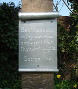 Peace Dove's Plaque (87 kbytes) - Click to enlarge