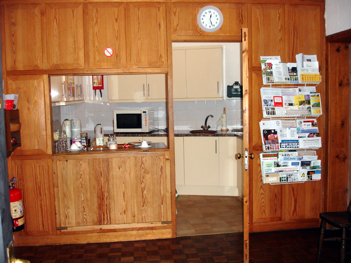 Kitchen From Foyer Centre